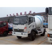 The Sinotruck 4cbm 4X2 Concrete Mixer Truck