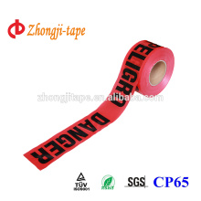 PE Exquisite printing barrier tape