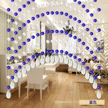 Cristal cortina de cuentas de moda Deco pared