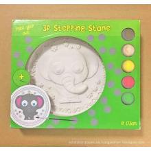 Pintura para colorear de juguete, niños DIY piedra