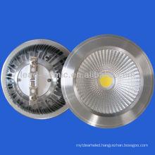 qr111 COB 10w led spot downlight 12V/ 220V