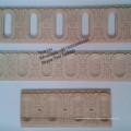 Moldura exclusiva de madera de haya de vapor de Europa Moldura de madera decorativa