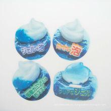 Etiqueta engomada caliente de los niños 3D