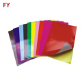 Factory direct adhesive color a4 size sticker paper