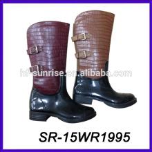 Cargador impermeable pvc de la lluvia de las mujeres del cargador impermeable de la lluvia