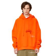 Mejor precio calidad superior 100% algodón hombres sudaderas con capucha