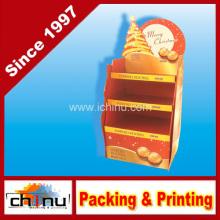 Exhibición de la paleta del cartón ondulado de la comida festiva de Ferrero (6219)