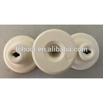 Special material 1600C high temperature ceramic cpulocks