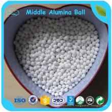 Perles de meulage d'alumine moyenne / boule de meulage pour des minerais non-métalliques
