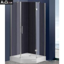 Aokeliya corner glass shower doors frameless custom glass shower enclosures designer glass shower enclosure