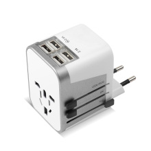 4 ports USB EU / UK / US / AU Plug Universal Travel Adapter