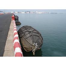 Tipo habilitado Yokohama de ISO17357 pneumático - pára-choques de borracha marinhos do barco para a venda