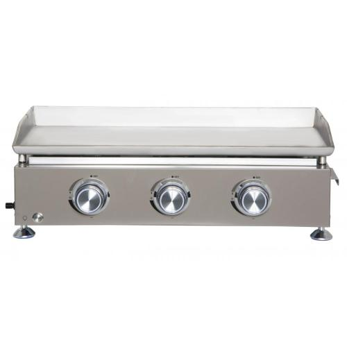 3 Brenner Gas Girddle Grill für Patio