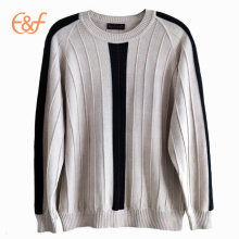 100%Pure Wool Deep-textured Sweater Design for men