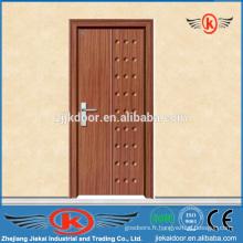 JK-P9013 pvc / mdf porte intérieure en bois