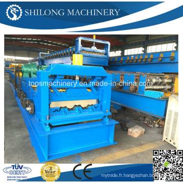 CE approuvé Lifetime Service Machine de formage de rouleaux de plancher en métal avec ISO