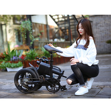Folding ebike 16inch foldable mini electric bicycle 250w with Pedal