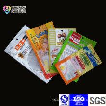 Упаковочный мешок для пищевых продуктов с 3-мя уплотнениями