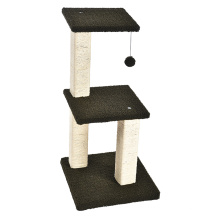 OEM Wholesale Luxury Durable Eco-Friendly Cat Tree Stands Cat Towers