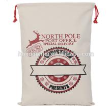 Alta calidad personalizada original de Santa calcetín Tote decoración de la Navidad Lovely Christmas Tree Bags