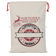 High Quality Personalized Original Santa Sock Tote Christmas Decoration Lovely Christmas Tree Bags