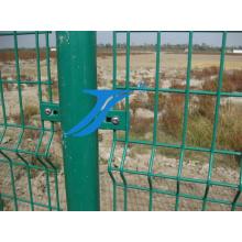 PVC galvanisierte geschweißten Maschen-Zaun für Garten und Haus