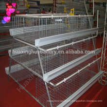 Design A type galvanisé cage de poussin pour nouveau fermier