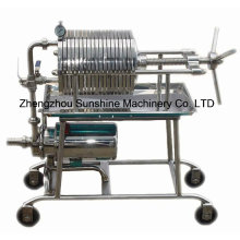 Yeast Oil Filter Press Sunflower Oil Filter Machine