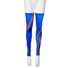Manchon de jambe de sport personnalisé sublimé par anti-UV