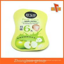 Fornecedor de Guangzhou material por atacado lamimated costume saco em forma de cosméticos