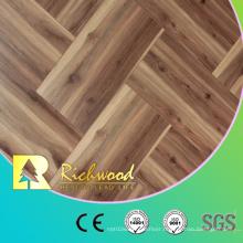 12.3mm HDF AC4 Oak Teak Timber Waxe3d Edged Laminate Wood Flooring