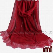 100% Soft Cotton Pashmina Shawl Scarf