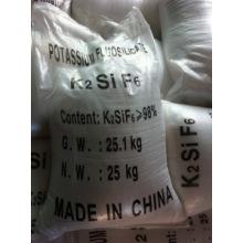 Hot Promotion 98% potasio Fluotitanate utilizado para catalizador (CAS 16919-27-0)