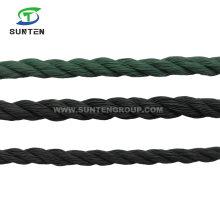 Factory Price PE/Nylon/Polyethylene/Synthetic/Plastic/Fishing/Marine/Mooring/Packing/Twist/Twisted/Tent/Tarpaulin Rope