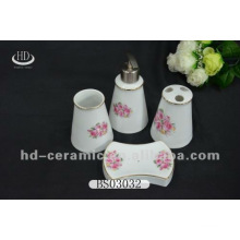 acrylic bathroom accessories with decal