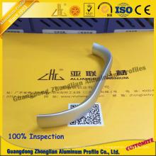 Manija del perfil de aluminio para el gabinete, armario, cajón con CNC