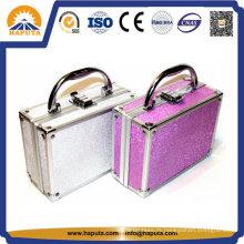 Caixa de armazenamento de cosméticos de beleza com forro de veludo (HB-2035)
