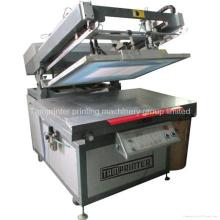 Machine d'impression d'écran plat de bras oblique de calendrier de marque de Tmp-70100
