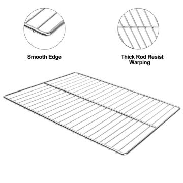 Environmentally durable stainless steel BBQgrate grill