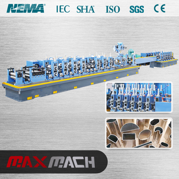 Stainless steel pipe welding rolling making machine