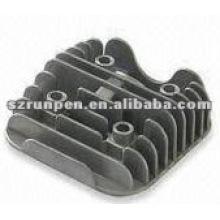 Recubrimiento en polvo a presión Base de disipador de calor de fundición de LED