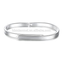 heißer Verkauf natürliche Aquamarin Rocailles Silber überzogene Armband für Frauen