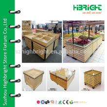 Supermarkt Gemüsevitrine, Gemüsekorb