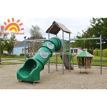 Parque Tubo Slides Kids Quintal Playground