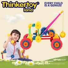 Пластиковая игрушка блокировки для детей, пластиковый кран