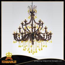 High Class Crystal Glass Chandelier Pendant Lamp (90009-15+5+5)