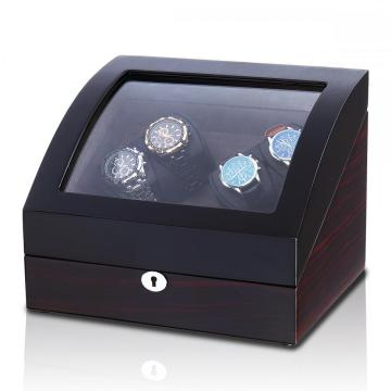 PE Finish Watch Winder For 4 Watches