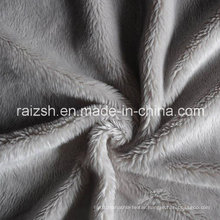 Super Soft Short Plush Fabric Two-Sided for Home Textile