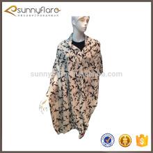 Bufanda de impresión colorida 100% de la cachemira de las señoras