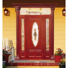 Eingang Massivholz Malerei Tür